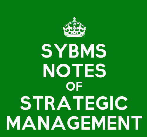 Strategic Management Unit 2 Notes of SYBMS