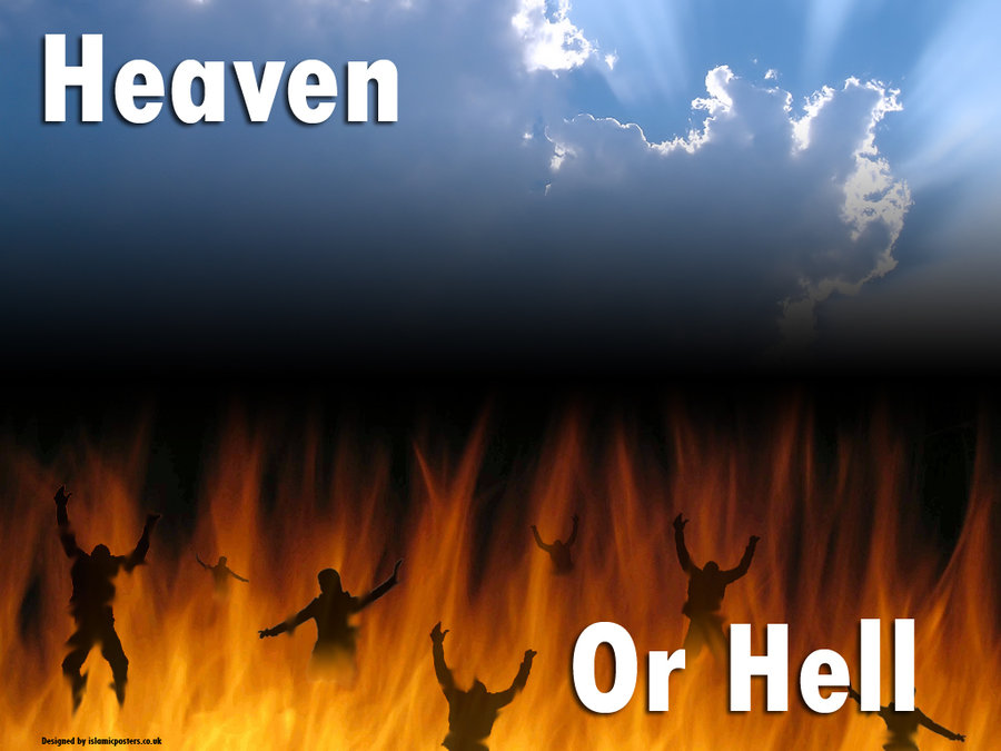 Hell or heaven - You decide!