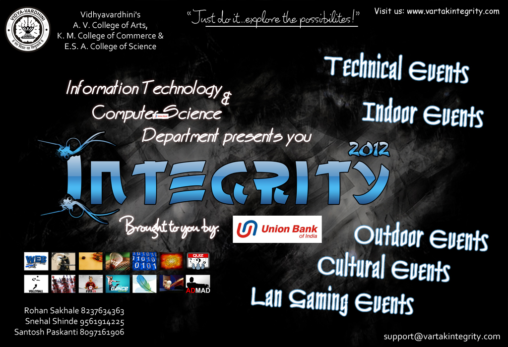 Vartak College Presents Integrity 2012