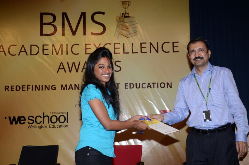 Felicitation of Christabelle Rodricks, St. Andrews College TYBMS Sem 5 Topper 2013