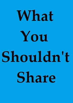 Don-t-share