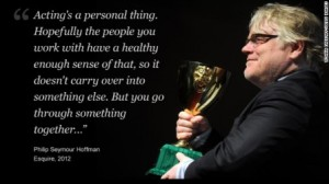 Oscar winning actor Philip Hoffman Remembered.
