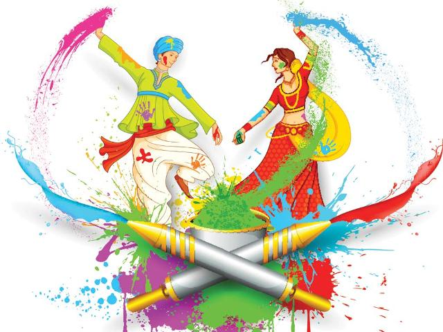 Top 25 Sweet Awesome Colorful Lovely Happy Holi 2014 SMS, Quotes, Messages In English For Facebook And Whatsapp
