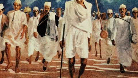 Remembering Mahatma Gandhi's Salt Satyagraha, the Dandi March 12th March 1930