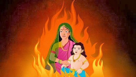 Top 25 Cute Awesome Colorful Lovely Happy Holika Dahan 2014 Shayari, SMS, Quotes, Messages In Hindi For Facebook And Whatsapp