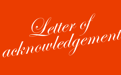 letter_of_acknowledgement