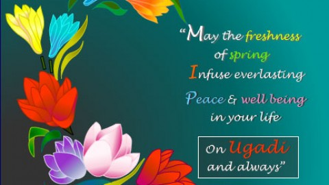 Top 10 Cute Awesome Lovely Happy Ugadi 2014 Shayari, SMS, Quotes, Messages In English For Facebook And WhatsApp