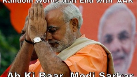 "Top 100 MindBlowing Funny Hilarious ""AB KI BAAR MODI SARKAR"" Images, Jokes, Memes For Facebook And WhatsApp"