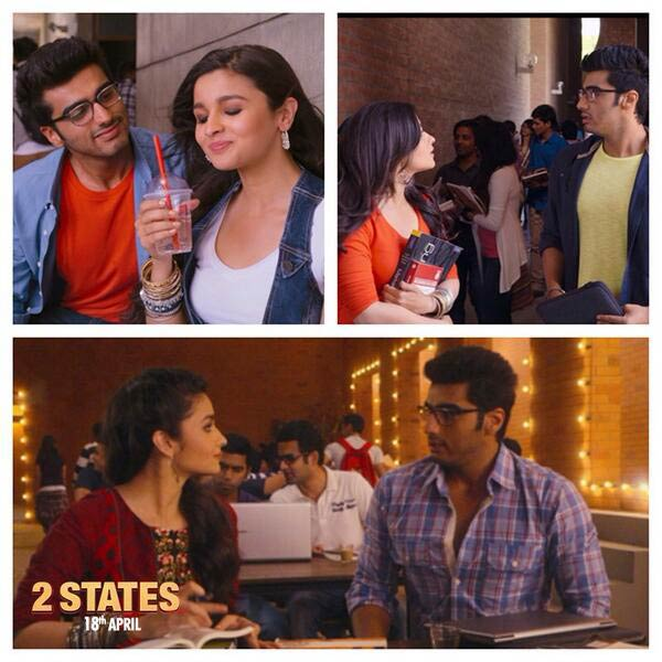 Movie Review : 2 States Is A Light-Hearted Happy Entertainer!