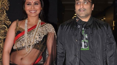 Rani Mukherjee and Aditya Chopra tie knot in a low key affair