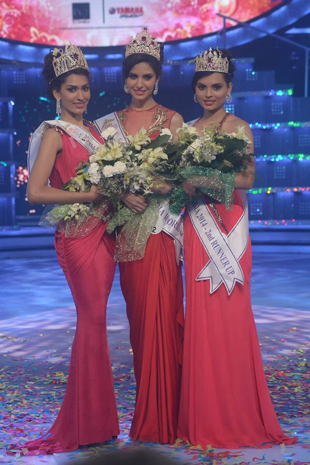 Delhi Girl Koyal Rana Wins MISS INDIA WORLD 2014 Title