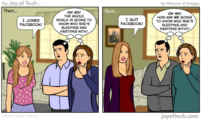 5 Crazy Facebook Status Images That Proves You Shouldn't Add Your Parents On Facebook