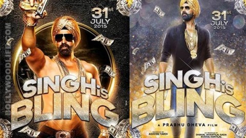 Akshay Kumar and Katrina Kaif starrer Singh is Bling's first look revealed