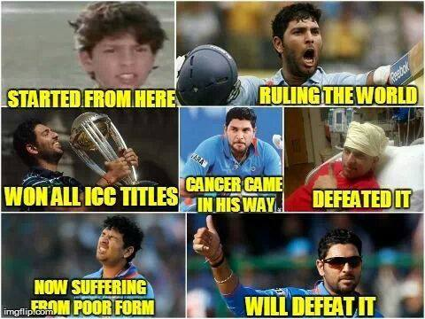 Top 10 Best Internet Reactions To Yuvraj Singh's Bad Day At World T20