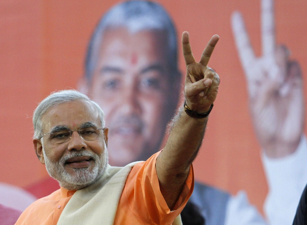 BJP wins the Lok Sabha Elections 2014