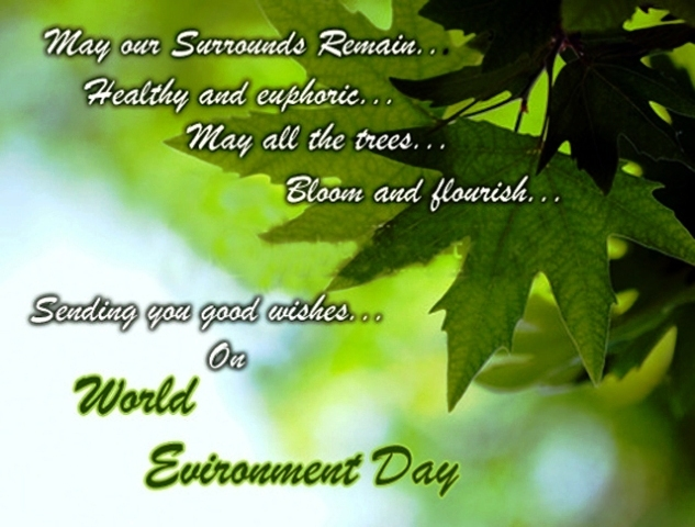 World Environment Day 2014 Facebook Greetings, WhatsApp HD, Images, Wallpapers, Scraps For Orkut