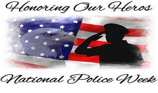 2014 Happy National  Peace Officers Memorial Day English SMS