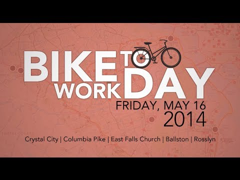 2014 National Bike To Work Day English SMS