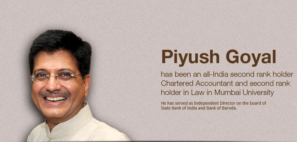 Politician Profile : Piyush Goyal