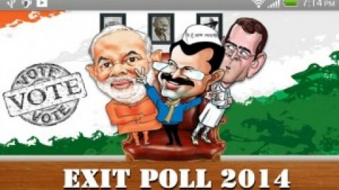 Exit poll 2014 results out