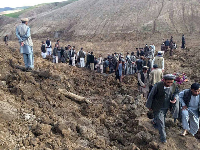 Biggest Disaster in Afghanistan, Landslide kills more than 2,000 people