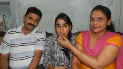 "National level table tennis player ""Muskan Verma"" tops class 12 by getting 99.5 %"