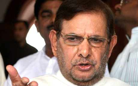 Sharad Yadav accuses Nitish Kumar of casteism