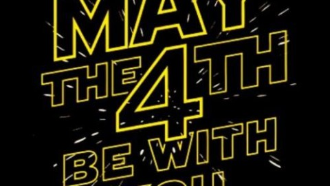 Happy Star Wars Day! #MayThe4thBeWithYou