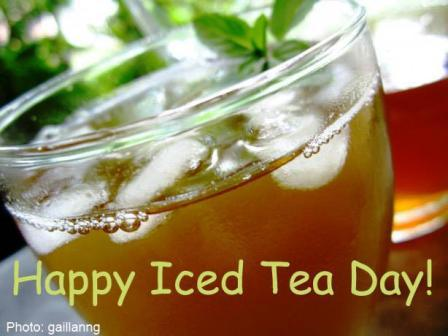 Happy Iced Tea Day 2014 HD Wallpapers, Images, Wishes For Facebook, WhatsApp