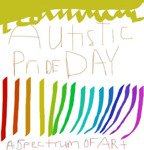 Happy Autistic Pride Day 2014 HD Images, Wallpapers, Orkut Scraps, Whatsapp, Facebook