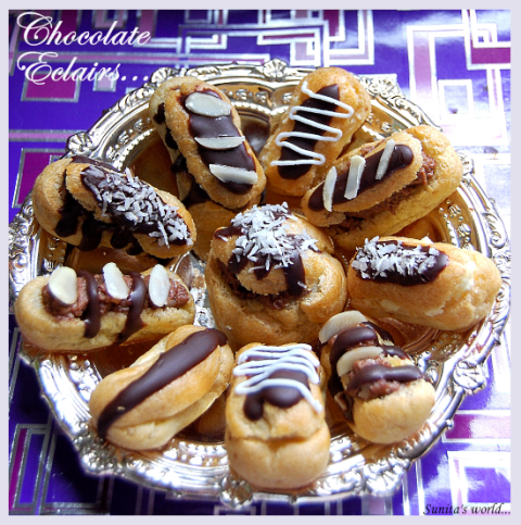 National Chocolate Éclair Day 2014 SMS, Wishes, Messages, Greetings In English