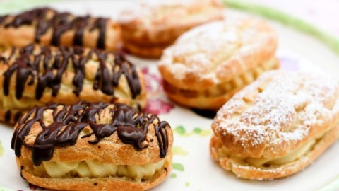 Happy National Chocolate Éclair Day 2014 HD Images, Wallpapers, Orkut Scraps, Whatsapp, Facebook