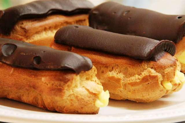 Happy National Chocolate Éclair Day 2014 HD Wallpapers, Images, Wishes For Facebook, WhatsApp