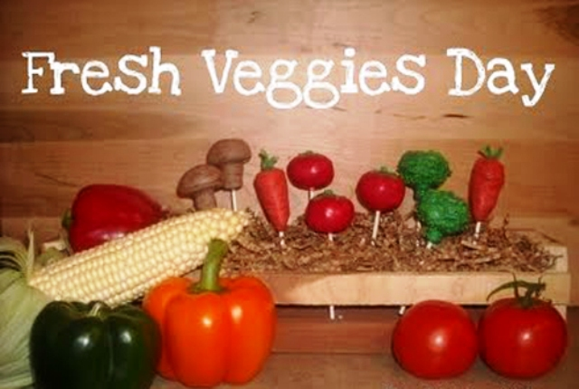 Happy Fresh Veggies Day 2014 HD Images, Greetings, Wallpapers Free Download