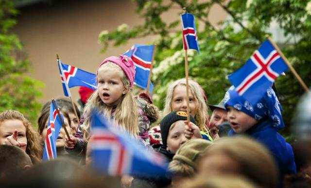 Happy Icelandic National Day 2014 HD Images, Greetings, Wallpapers Free Download