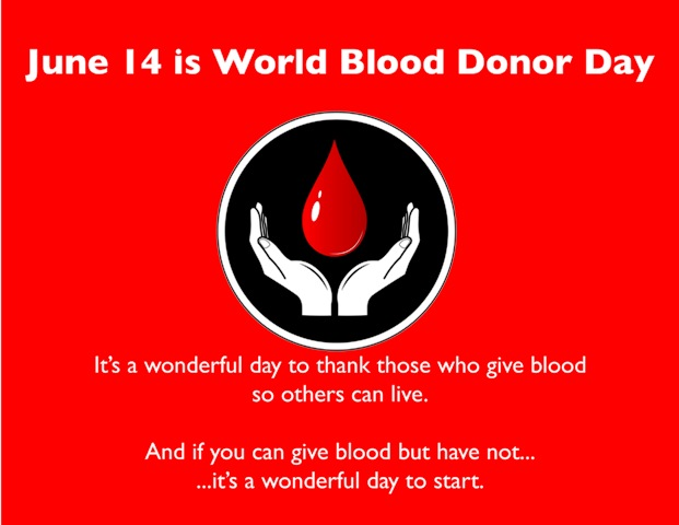 World Blood Donor Day 2014 Facebook Greetings, WhatsApp HD, Images, Wallpapers, Scraps For Orkut