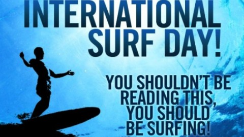 International Surfing Day 2014 SMS, Wishes, Messages, Greetings In English