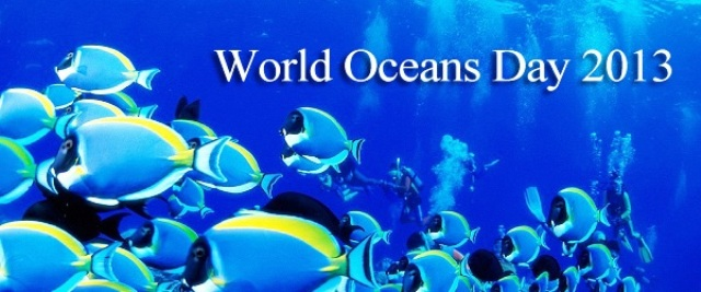 Happy World Oceans Day 2014 Greetings, Wishes, Images, HD Wallpapers For WhatsApp, Facebook