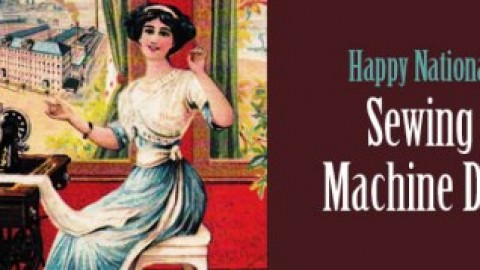 Sewing Machine Day 2014 SMS, Wishes, Messages, Greetings In English