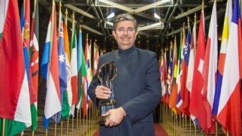 Uday Kotak Is World Entrepreneur Of The Year By EY's.