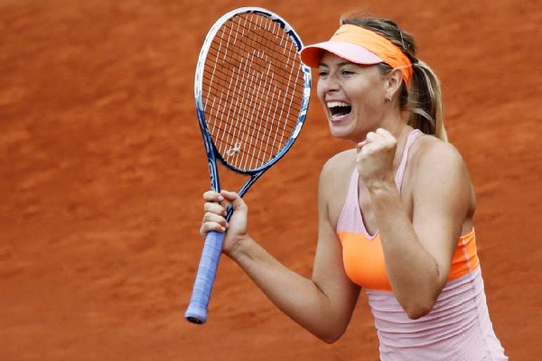 Guess What! Sharapova Storms Back Into French Open Finals