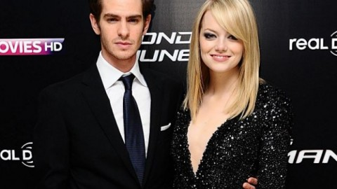Give it up for Emma Stone and Andrew Garfield !