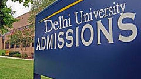 Revised UG Admission Schedule for Delhi University 2014