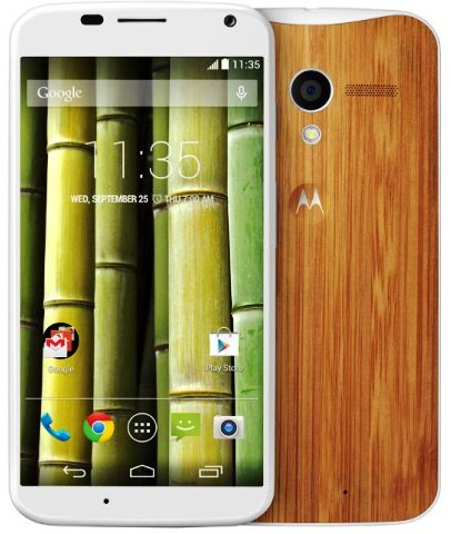 Want Something Out Of The Box? Buy The Moto X Bamboo Edition