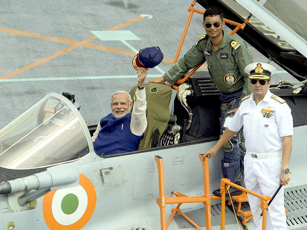 Navy Scouts For Air Defence Options For India's New Carrier - INS Vikramaditya