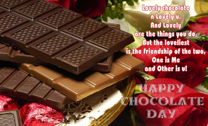 Happy Chocolate Day 2014 HD Wallpapers, Images, Wishes For Facebook, WhatsApp