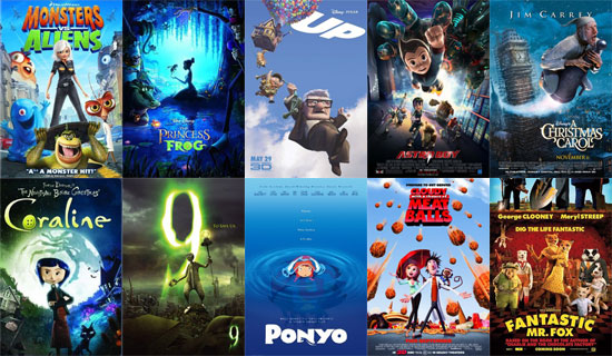 Top 5 Animated Films of the 21st Century