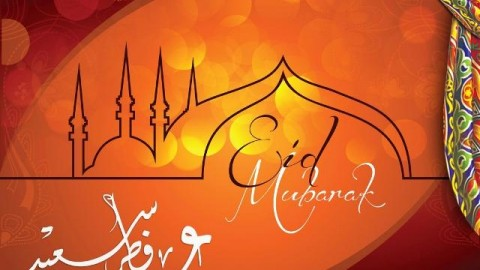 Eid ul-Fitr Greetings, Cards, Images, Picture Wishes 2014