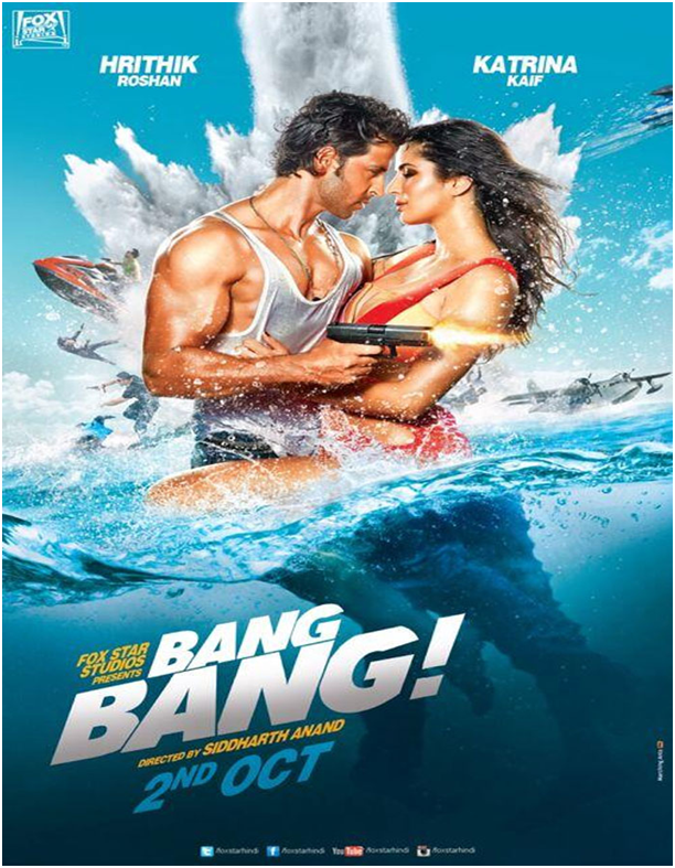 Bang Bang First Look : Duo Hrithik and Katrina to Bang the cinemas on October 2