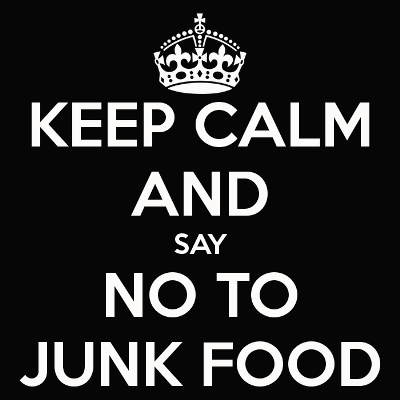 No to junk food 6
